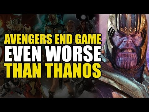 Avengers Endgame: Worse Than Thanos