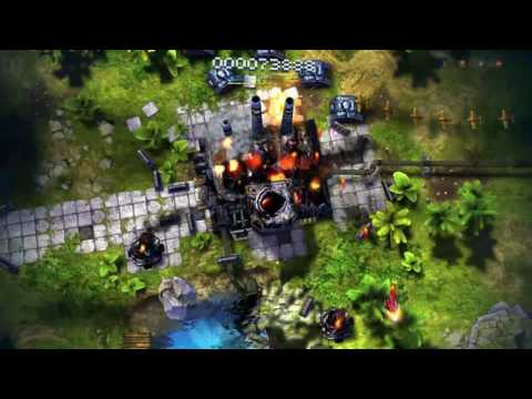 Sky Force Anniversary Vita Gameplay