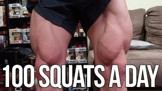 I Did 100 Squats A Day For 30 Days | Heres What Happened | Superhero Jacked