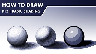 How To Draw Part 2 | Basic Shading | DaseDesigns