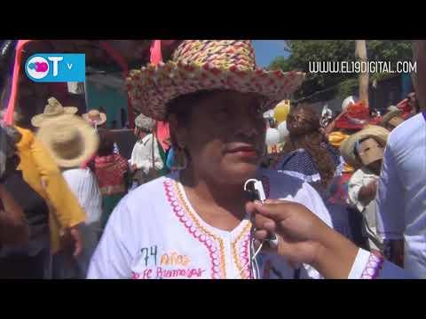 Masaya vive su cultura con Torovenado el Malinche