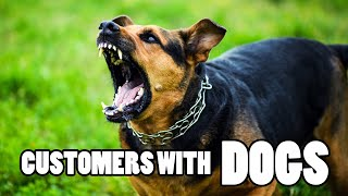 Customers With Dogs - PUT YOUR DOGS AWAY!!