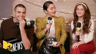 Lana Condor, Noah Centineo & Anna Cathcart on 'To All The Boys 2: P.S. I Still Love You' | MTV News