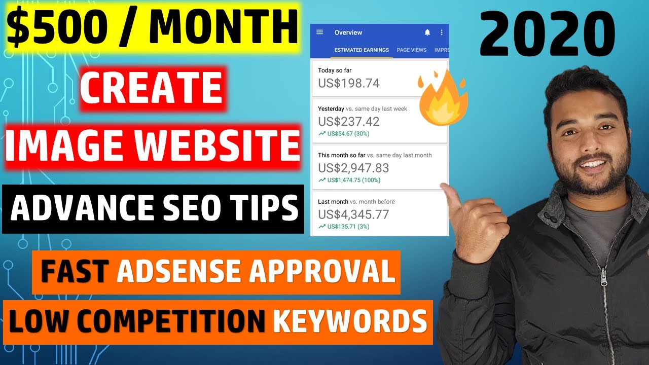 🔥 Create FREE Image Website on Blogger From Scratch, Make $500/Month Using Adsense Screenshot Download
