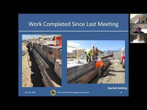Peirce Island Waste Water Treatment Facility Upgrade 4 15 2020