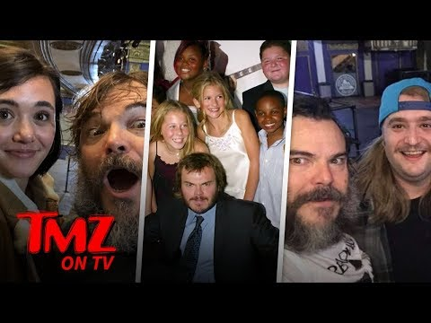 [TMZ] Jack Black Had A School Of Rock Reunion!