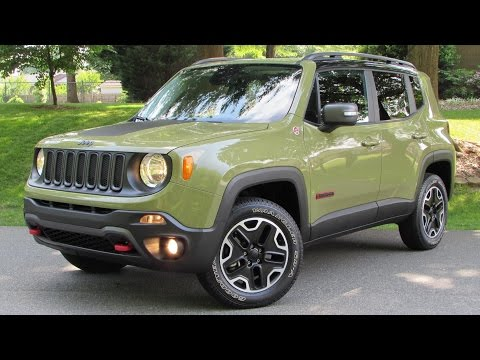 2015 Jeep Renegade Trailhawk Start Up, Road Test, and In Depth Review