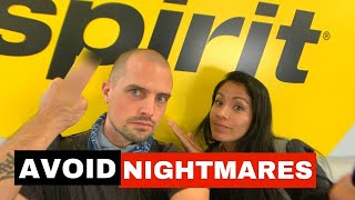 Tips for Flying on Spirit Airlines (+ Our NIGHTMARE Experience)   Spirit Airlines Review 2021