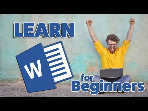 Microsoft Word Tutorial - Beginners Level 1 - YouTube