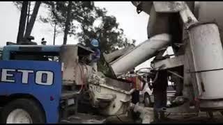 Trabajos de socavamiento en Villa Nueva