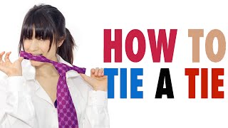How to Tie a Tie: Best, Fastest, Easiest Knot Without a Mirror