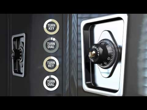 Screen capture of Master Lock 1652 Built-In Combination Lock