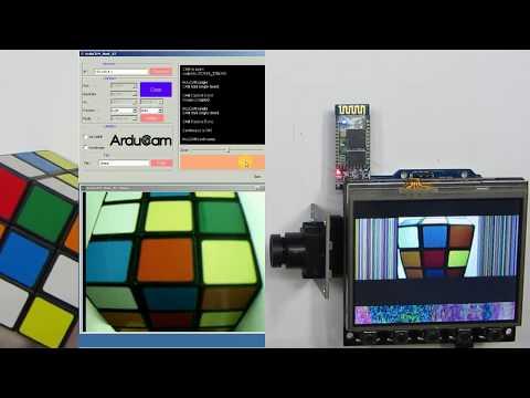 Arducam Shield V2 Arduino Camera Demo Tutorial 2018