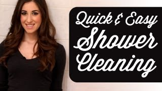Quick & Easy Shower Cleaning Routine! How To Clean A Shower (Time Saving Tips) Clean My Space
