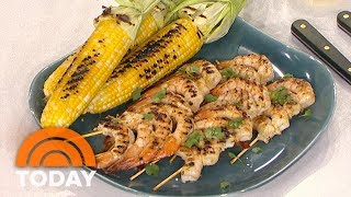 Al Roker Makes Smokey Shrimp And Sweet Corn 2 Different Ways | TODAY