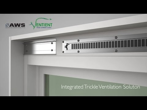 AWS Ventient - Integrated Trickle Ventilation Solution