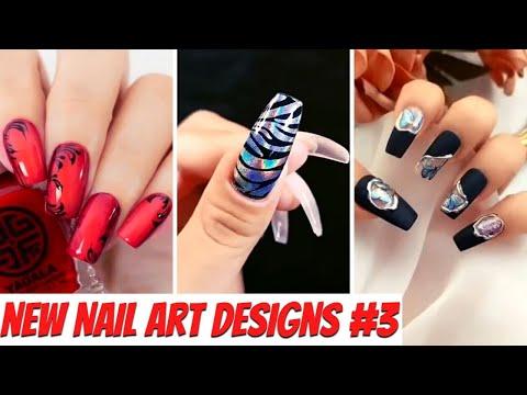 New Nail Art Designs Compilation # 3   New Nail Art 2021  The Best Nail Art Designs Compilation
