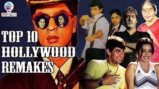 Top 10 Bollywood Remakes of Hollywood Movies | Top 10 | Brainwash
