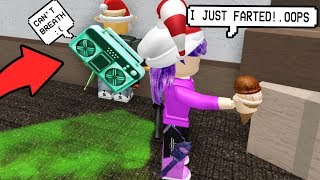 OMG! SOMEONE FARTS IN FRONT OF ME! (Roblox Murder Mystery 2)