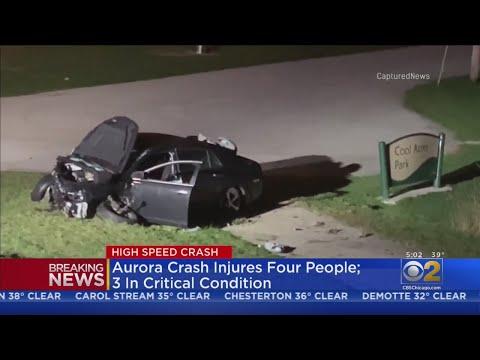 Aurora Crash Injures Four People; Three In Critical Condition