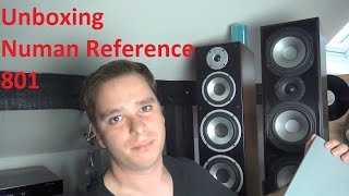 Numan Reference 801 Unboxing und erste Eindrücke. Guter Lautsprecher Kaufempfehlung für wenig Geld?