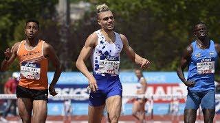 Saint-Etienne 2019 : Finale 400 m haies M (Wilfried Happio en 49''26)