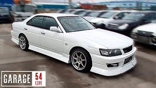 РАСПИЛИЛИ Nissan Laurel для проекта ДРИФТ PRIORA