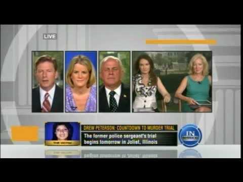 Meg Strickler on Tru TV discussing #drewpeterson on 7/30/12