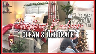 CHRISTMAS MASTER BEDROOM! | CLEAN & DECORATE FOR CHRISTMAS 2020