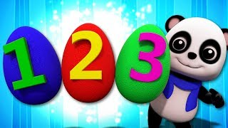 Numbers Song | Baby Bao Panda | Learning Videos For Toddlers