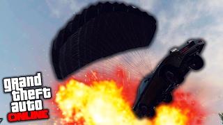 ПАРКУР НА МАШИНАХ | ГОНКИ ПО КРЫШАМ В GTA 5 online