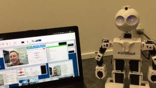 Machine Learning And Cognitive Services  Jd Humanoid Robot