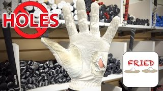 Why Golf Gloves Get Holes