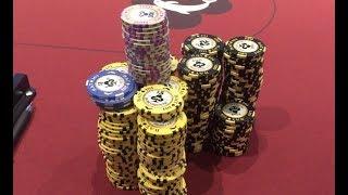 Biggest Pot Of The Year!! Peak Of The Upswing! Poker Vlog Ep 55