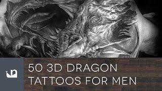 50 3D Dragon Tattoos For Men