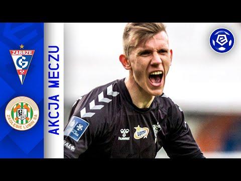 Wideo: Krawczyk pod poprzeczkę! | Górnik - Zagłębie | Ekstraklasa 2020/21 | 21. Kolejka