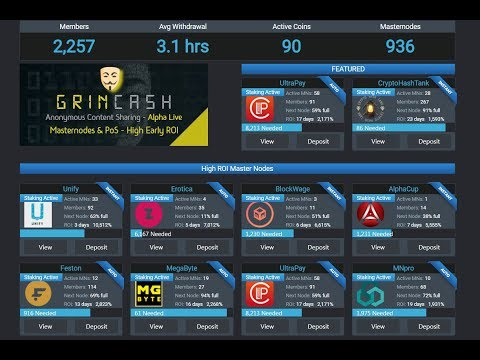 CryptoHashTank - Мастернода онлайн - инвестируй от одной монеты.