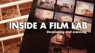 How to Develop and Scan Film Photos (Lab Tour)