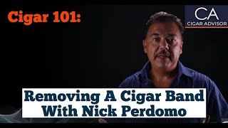 Why I Don't Remove the Cigar Band - Cigar 101