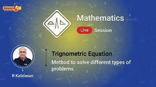 Learn How to Solve Trignometric Equation Only on Extramarks Website