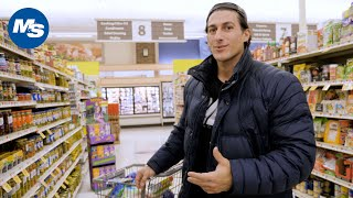 Grocery Shopping with Physique Pros   Sadik Hadzovic on Contest Prep