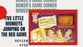 Bowers's Game Corner: Five Little Monkeys Jumping On The Bed Game Review