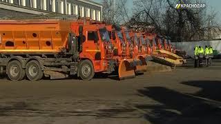 Из за похолоданий и снега коммунальные службы города приводятся в полную готовность