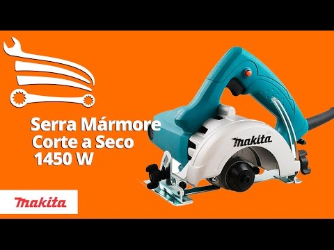 Serra Mármore 125mm Corte em Ângulo 1450W   - Video