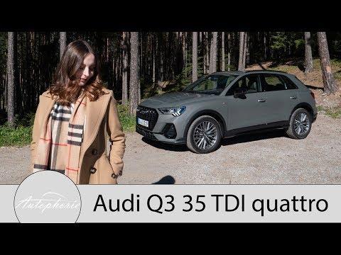 2019 Audi Q3 35 TDI quattro Fahrbericht / Die zweite Generation des Kompakt SUV - Autophorie
