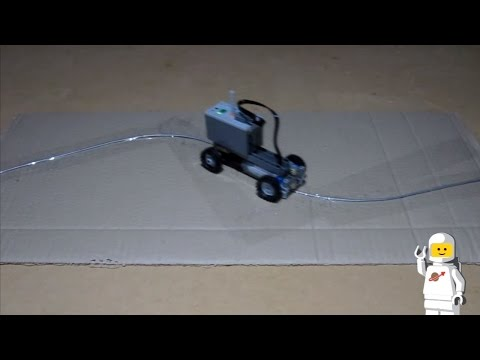 Lego Technic Faller Car System