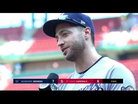 Ryan Braun on 9th inning grand slam vs. Cardinals