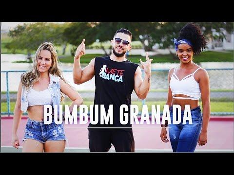 bumbum granada mcs zaac and jerry coreografia mete dan  a