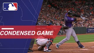 Condensed Game: COL@HOU - 8/14/18