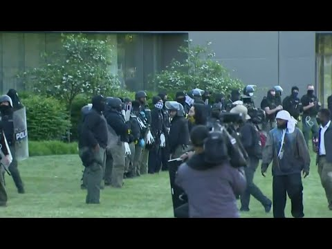 Detroit police say outsiders trying to turn protests into chaos